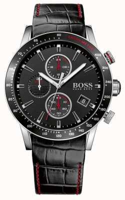 Boss Heren rafale zwart chronograaf horloge 1513390
