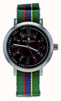 Smart Turnout College horloge met sh bandje STD1/56/W