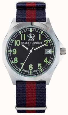Smart Turnout Militaire horloge met hd bandje STA/56/W