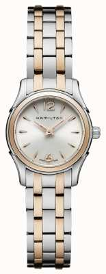 Hamilton Womans Jazzmaster kwarts two tone H32271155