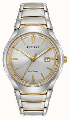Citizen Mens eco rijden two tone paradigma AW1554-59H