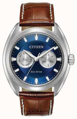 Citizen Mens eco-rijden paradex blauwe wijzerplaat BU4010-05L