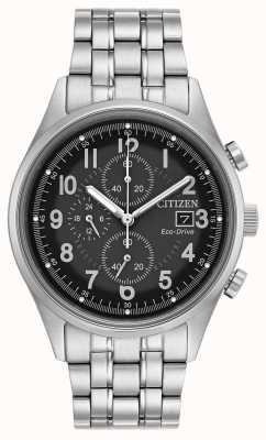 Citizen Zwarte eco-drive chandler voor heren CA0620-59H