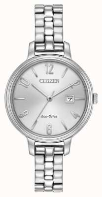 Citizen Womans eco-rijden zilver Chandler EW2440-53A