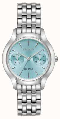 Citizen Womans Eco-Drive silhouet Chandler blauw FD4010-57L