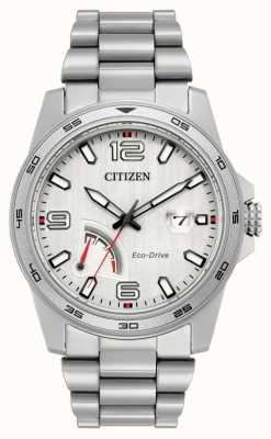 Citizen Mens eco-rijden gangreserve staal AW7031-54A