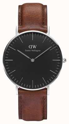 Daniel Wellington Unisex klassieke st mawes 36mm zwart DW00100142