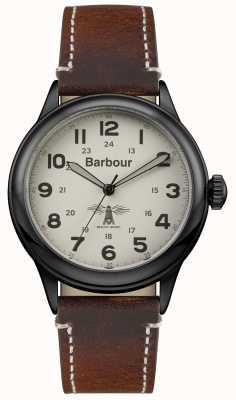 Barbour Mens Murton bruin lederen BB056CMBR
