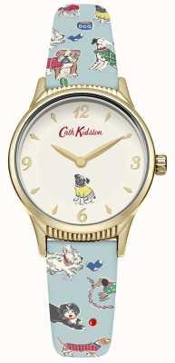 Cath Kidston Womans honden bleekblauw CKL011UG