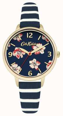 Cath Kidston Womans navy bloemen streep CKL032UG