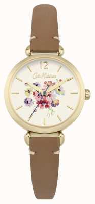 Cath Kidston Womans bloemenwiel bruin CKL015TG