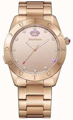 Juicy Couture Dames malibu verbinden rose gouden smartwatch 1901501