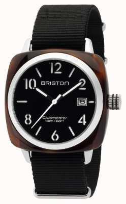 Briston Heren clubmaster klassieke acetaat hms schildpad shell zwart 16240.SA.T.1.NB