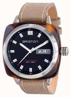 Briston Heren clubmaster sport acetaat HMS schildpad shell zwart 15342.SA.TS.1.LSK