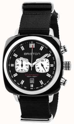 Briston Mens clubmaster sport acetaat chrono zwart 17142.SA.BS.1.NB