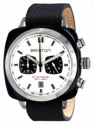Briston Mens clubmaster sport acetaat chrono zwart 15142.SA.BS.2.LSB