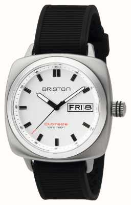 Briston Ex-display heren clubmaster sport staal hms wit 16342.S.SP.2.RB-EX-DISPLAY