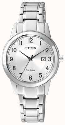 Citizen Eco-Drive dames elegant roestvrij staal FE1081-59B