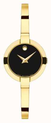 Movado Women's bela 25 geel goud pvd armband 0606999