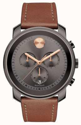 Movado Vet grijs horloge chronograaf heren horloge 3600421