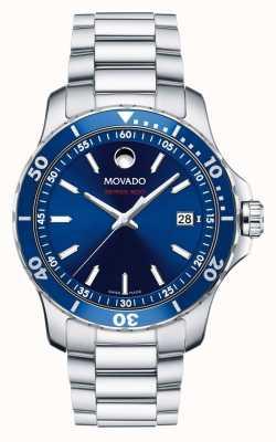 Movado Heren serie 800 horloge prestaties staal aluminium sport 2600137