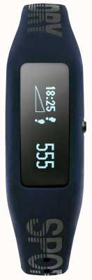 Superdry Unisex fitness tracker marine siliconen band SYG202UB