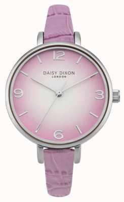 Daisy Dixon Womans millie lila croc effect DD041V