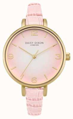 Daisy Dixon Womans millie roze croc effect DD041P