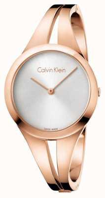 Calvin Klein Womans verslaafde roosgouden armband K7W2M616