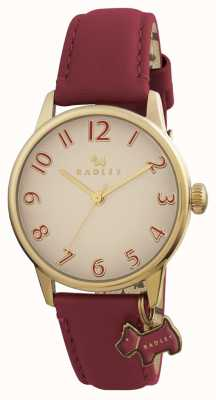 Radley Womans blair bordeaux lederen band RY2250