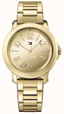 Tommy Hilfiger Womans roestvrij staal gouden armband 1781751