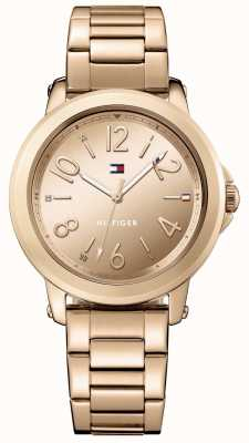 Tommy Hilfiger Womans roestvrij staal rose gouden armband 1781752