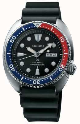 Seiko Mens Prospex schildpad duikers zwart SRP779K1