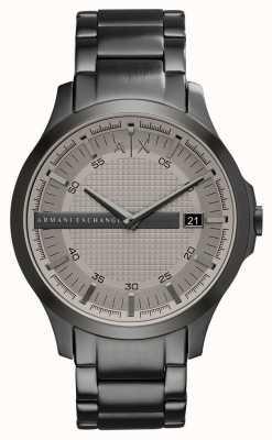 Armani Exchange Mensgewicht grijs roestvrij staal horloge AX2194