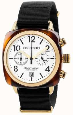 Briston Mens clubmaster klassieke chronograaf 17140.PYA.T.2.NB