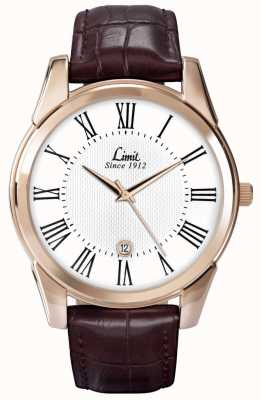 Limit Mens limiet horloge leer 5453.01