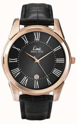 Limit Mens limiet horloge leer 5454.01