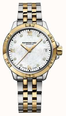 Raymond Weil Womans tango two tone 5960-STP-00995