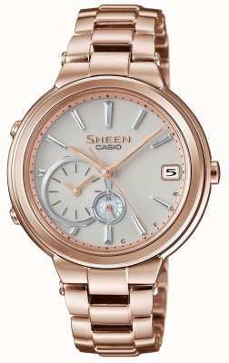 Casio Sheen bluetooth rose goud verguld vrouwen aangesloten SHB-200CG-9AER