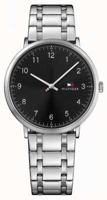 Tommy Hilfiger Mens james roestvrij stalen horloge 1791336