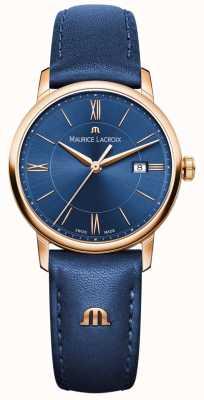 Maurice Lacroix Womans Eliros blauw leer EL1094-PVP01-411-1
