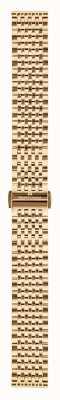Maurice Lacroix | 16mm rosé vergulde milanese armband | ML450-005003
