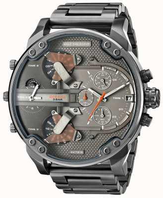 Diesel Mens mr papa 2,0 gunmetal chronograaf DZ7315