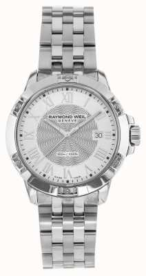 Raymond Weil Heren tango staal zilver kwarts 8160-ST-00658