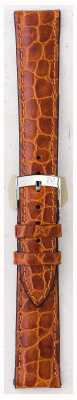 Morellato Alleen band - liverpool croc leder lichtbruin 20mm A01U0751376037CR20