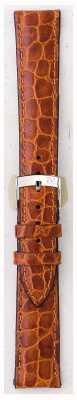 Morellato Alleen band - liverpool croc leder lichtbruin 16mm A01U0751376037CR16