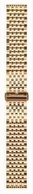 Maurice Lacroix | 20mm rosé vergulde milanese armband | ML450-005006