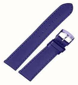 Morellato Alleen band - Sprint napa leder blauw 20mm A01X2619875065CR20
