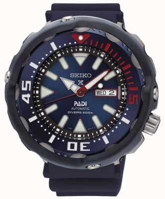 Seiko Mens Prospex duikers PADI speciale editie automatische blauwe wijzerplaat SRPA83K1