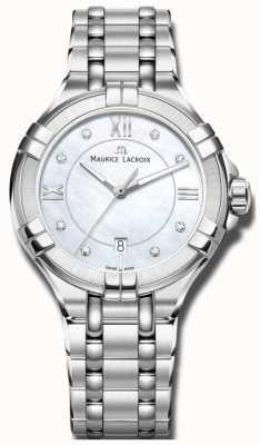 Maurice Lacroix Womans Aikon kwarts AI1004-SS002-170-1